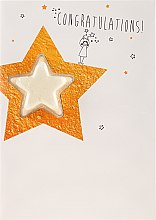 Kup Aromatyczna kula do kąpieli - Bomb Cosmetics Congratulations Star Blaster Card Bath Bomb Card Graduation Gift