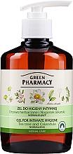 Kup Normalizujący żel do higieny intymnej Drzewo herbaciane i nagietek lekarski - Green Pharmacy Body Care