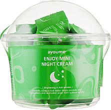 Kup Krem do twarzy na noc z wąkrotką azjatycką - Ayoume Enjoy Mini Night Cream