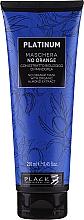 Kup Maska do włosów z ekstraktem z migdałów neutralizująca odcienie pomarańczy i miedzi - Black Professional Line Platinum No Orange Mask With Organic Almond Extract