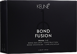 Kup Zestaw - Keune Bond Fusion Salon Kit Phase 1+2 (builder/500ml + enhancer/2x500ml)