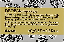 Kup Delikatny szampon w kostce do włosów - Davines Shampoo Bar