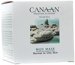 Kup PRZECENA! Błotna maska do skóry normalnej i tłustej - Canaan Minerals & Herbs Mud Mask Normal to Oily Skin *
