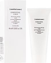 Kup Rozświetlający peeling oczyszczający do twarzy - Comfort Zone Essential Scrub