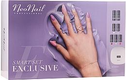 Kup Zestaw do manicure hybrydowego - NeoNail Smart Set Exclusive (led/lamp + base/7.2ml + top/7.2ml + nail/polish/5x3ml + nail/cleaner/50ml + remover/50ml + n/swab + nail/file/2pcs)