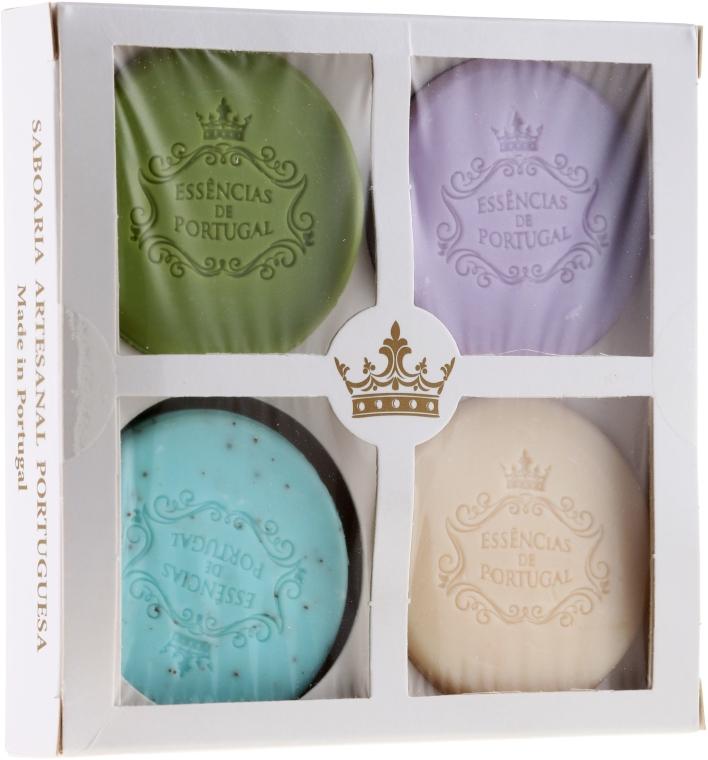 Zestaw naturalnych mydeł w kostce - Essências de Portugal Senses Natural (4 x soap 50 g) — фото N1