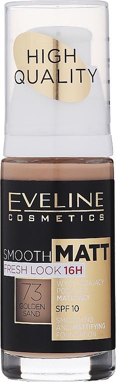 Wygładzający podkład matujący - Eveline Cosmetics Smooth Matt
