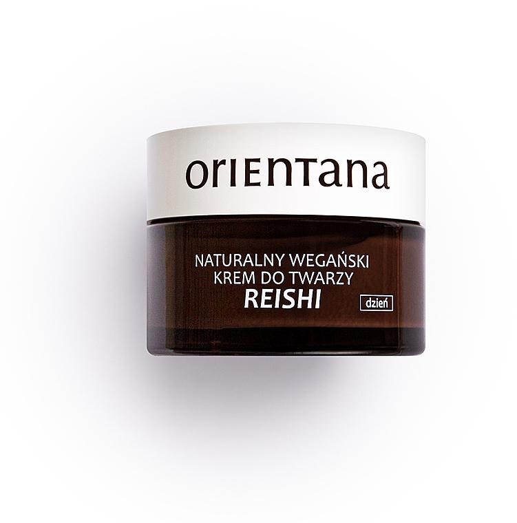 Naturalny wegański krem do twarzy na dzień - Orientana Reishi