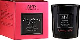 Kup Naturalna świeca sojowa - APIS Professional Raspberry Glow Soy Candle
