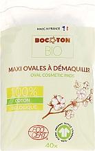 Kup Płatki kosmetyczne dla dzieci, owalne, 40 szt. - Bocoton Bio