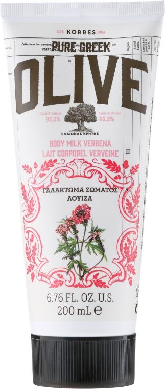 Mleczko do ciała Werbena - Korres Pure Greek Olive Verbena Body Milk — фото N1