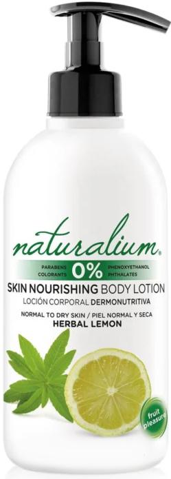 Odżywczy balsam do ciała do skóry normalnej i suchej - Naturalium Herbal Lemon Lotion — фото N1
