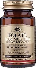 Kup Kwas foliowy w tabletkach - Solgar Folate 1,333 MCG DFE