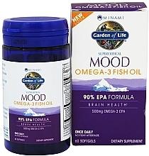 Kup Olej rybny Omega-3 w żelowych kapsułkach - Garden of Life Minami Mood Omega-3 Fish Oil