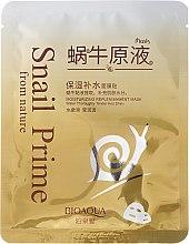 Kup Maseczka na tkaninie z ekstraktem ze śluzu ślimaka - Bioaqua Snail Prime