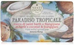 Kup Naturalne mydło odżywcze w kostce Kokos i plumeria - Nesti Dante Paradiso Tropicale Nourishing