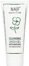 Kup Oczyszczający żel do kąpieli dla dzieci - Naif Baby Cleansing Wash Gel (miniprodukt)