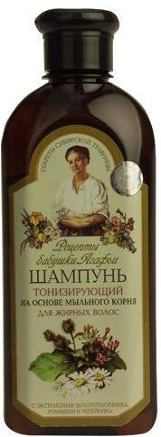 Tonizujący szampon do włosów tłustych - Receptury Babci Agafii