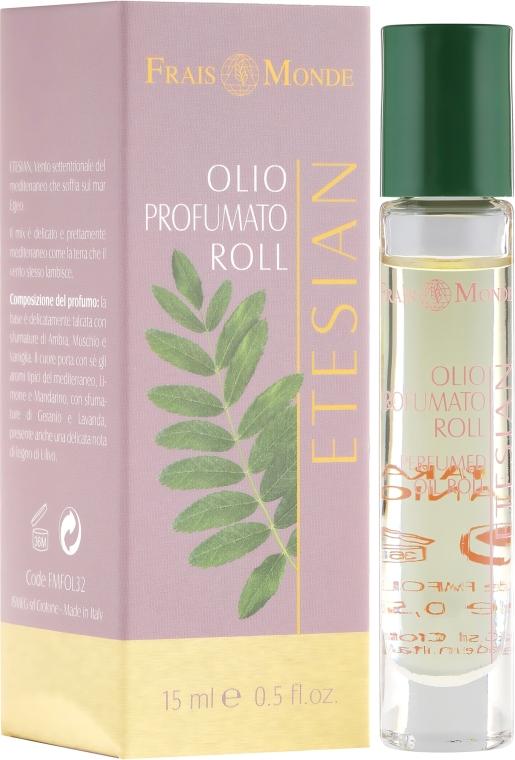Olejek perfumowany w kulce Etezje - Frais Monde Etesian Perfume Oil Roll — фото N1