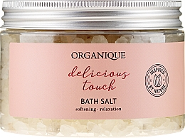 Kup Relaksująca sól do kąpieli - Organique Delicious Touch Bath Salt