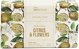 Kup Mydło w kostce - IDC Institute Refreshing Hand Natural Soap Citrus & Flowers