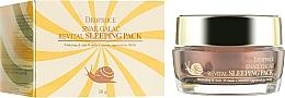 Kup Rewitalizująca maska na noc z mucyną ślimaka - Deoproce Snail Galac-Tox Revital Sleeping Pack
