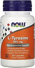 Kup L-tyrozyna, 500 mg - Now Foods L-Tyrosine