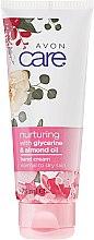 Krem do rąk z gliceryną i olejem migdałowym do skóry normalnej i suchej - Avon Care Nurturing Hand Cream — фото N1