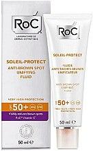 Kup Rozjaśniający tonik przeciw plamom pigmentacyjnym - RoC Soleil Protect Anti-Brown Spot Unifying Fluid SPF50