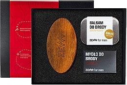 Kup Zestaw - Zew For Men Zadbany Brodacz (balm 80 ml + soap 85 ml + brush)
