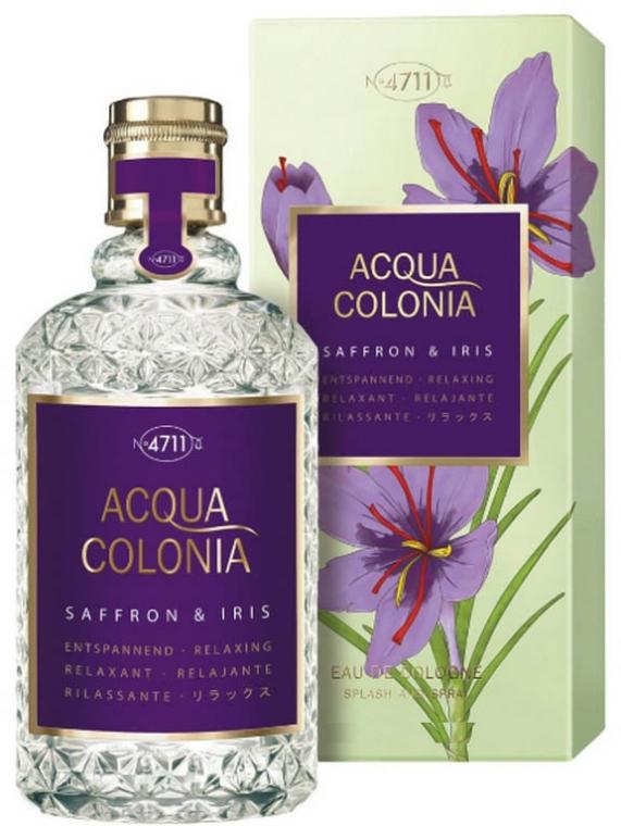 Maurer & Wirtz 4711 Acqua Colonia Saffron & Iris - Woda kolońska