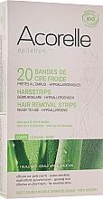 Kup Woskowe plastry do depilacji ciała Aloes i pszczele mleczko - Acorelle Hair Removal Strips