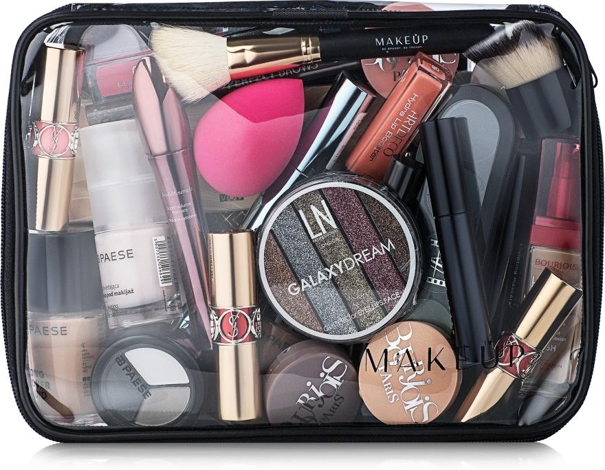 Kosmetyczka przezroczysta Visible Bag (25 x 18 x 8 cm, bez zawartości) - Makeup