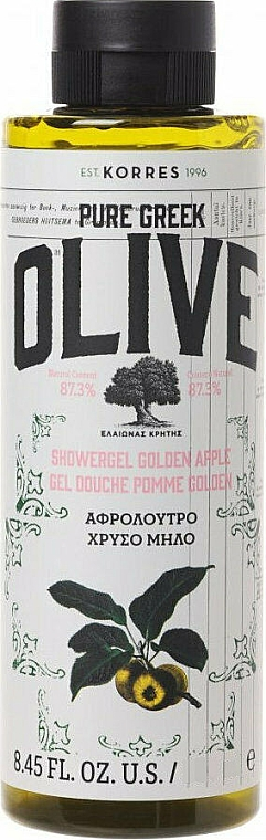 Żel pod prysznic - Korres Pure Greek Olive Shower Gel Golden Apple — фото N1