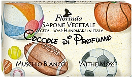 Kup Mydło naturalne w kostce Białe Piżmo - Florinda Sapone Vegetale Vegetal Soap White Moss