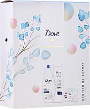 Kup PRZECENA! Zestaw - Dove Nourishing Beauty III (sh/gel/250ml+b/lotion/250ml + b/scr/255ml) *