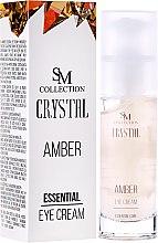 Kup Bursztynowy krem esencjonalny pod oczy - SM Collection Crystal Amber Eye Cream