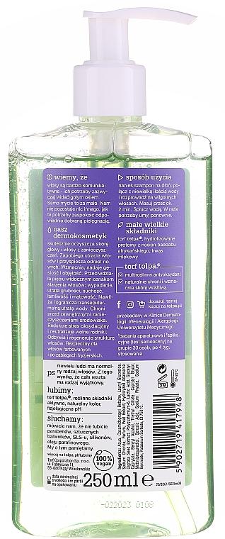 Szampon antipollution przeciw wypadaniu włosów - Tołpa Dermo Hair Anti-Hairloss Shampoo — фото N2