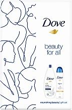 Kup Zestaw - Dove Nourishing Beauty Gift Set (sh/gel/250ml + deo/spray/150ml)