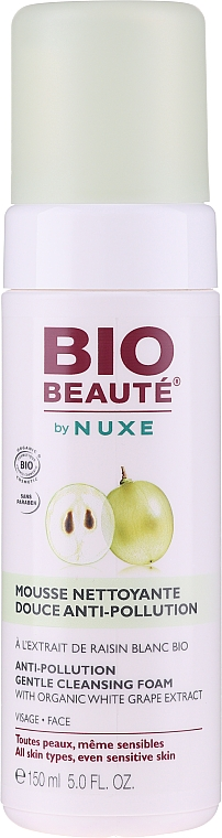 Pianka antypollution do mycia twarzy - Nuxe Bio Beaute Anti-Pollution Cleansing Foam — фото N1