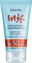 Kup Przeciwsłoneczny krem do twarzy SPF 50 - Faberlic Leto Sun Protection Face Cream
