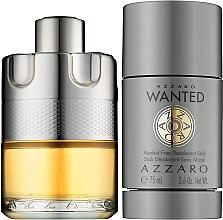 Azzaro Wanted - Zestaw (edt 100 ml + deo 75 ml) — фото N2