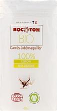Kup Płatki kosmetyczne, kwadratowe, 75 x 75 mm, 40 szt. - Bocoton