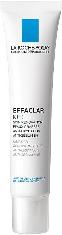 Odnawiający krem do skóry tłustej - La Roche-Posay Effaclar K+ — фото N1