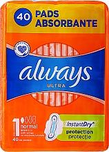 Kup Podpaski, 40 szt. - Always Ultra Normal Plus