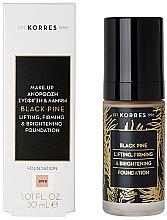 Kup Matujący podkład do twarzy - Korres Black Pine Lifting, Firming & Brightening Foundation
