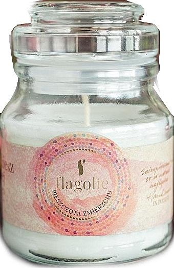 Świeca zapachowa w słoiczku Pieszczota zmierzchu - Flagolie Flagolie Scented Candle Boho — фото N1