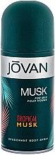 Kup Jovan Tropical Musk - Perfumowany dezodorant w sprayu