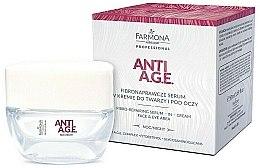 Kup Fibronaprawcze serum w kremie do twarzy i pod oczy na noc - Farmona Professional Anti A.G.E.