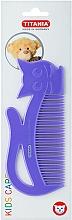 Kup Grzebień do włosów dla dzieci Kids, fioletowy - Titania